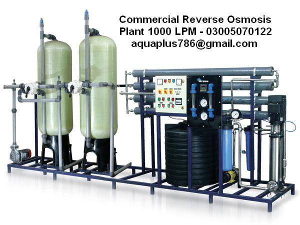 Commercial Reverse Osmosis Plant Manufacturer Pakistan 03355070122