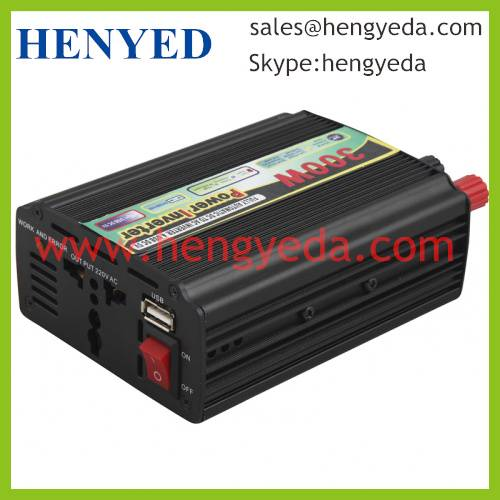 300w power inverter use for car with USB socket (HYD-300WMU)