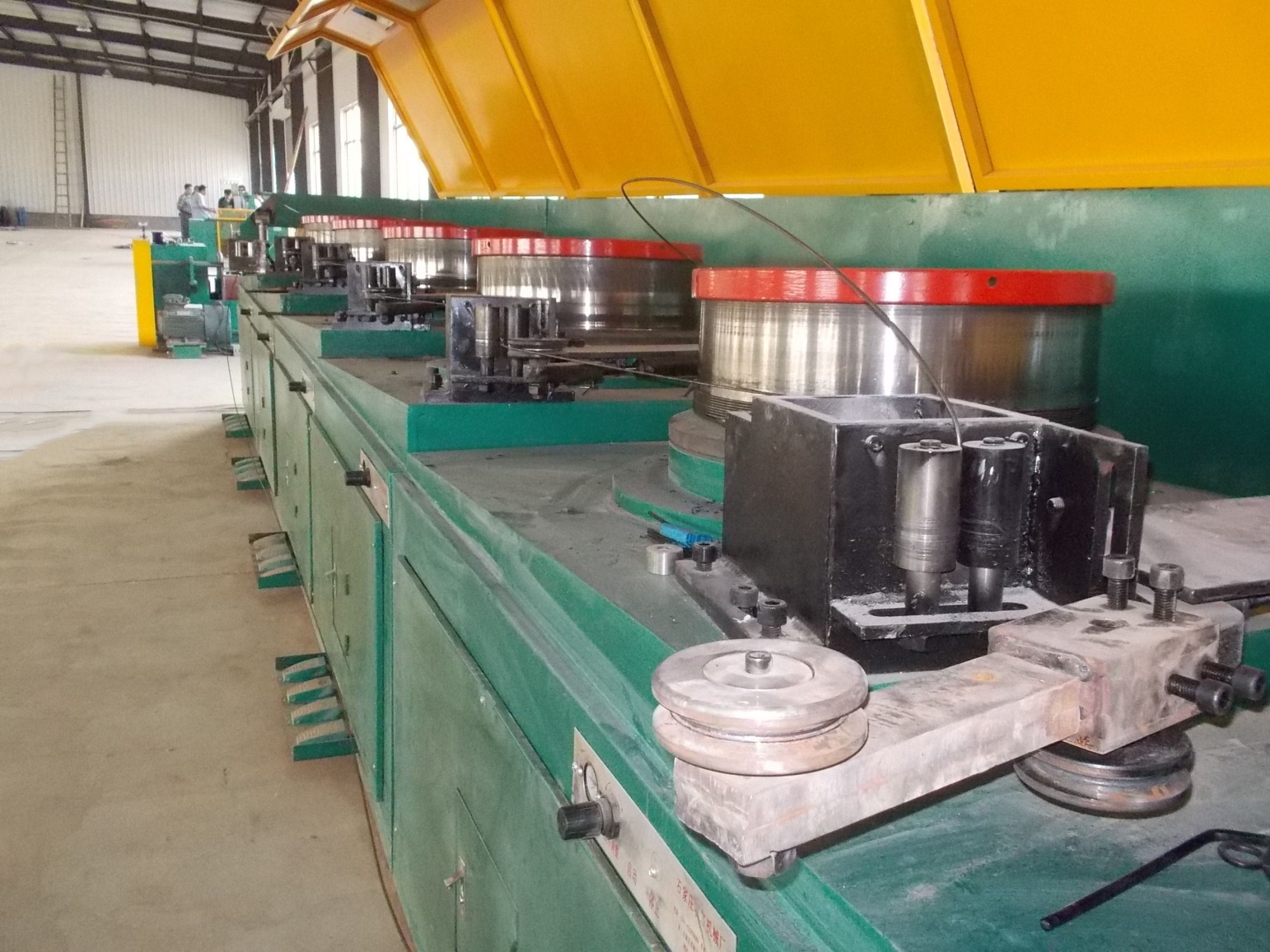 Factory sale straight line wire drawing machine