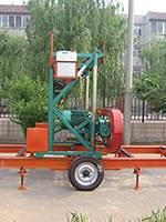 MJ1600 horizontal portable sawmill