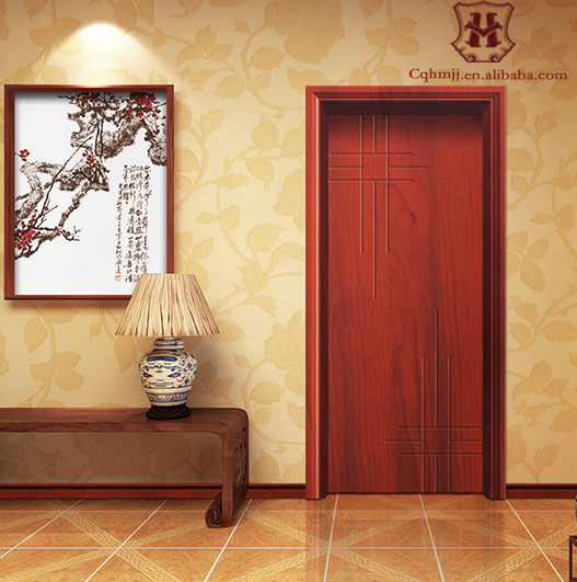 Hot sale pvc interior door frame whit customize color
