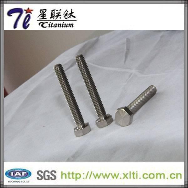Factory Stock for DIN 933 Standard GR5 M6 Titanium Screw