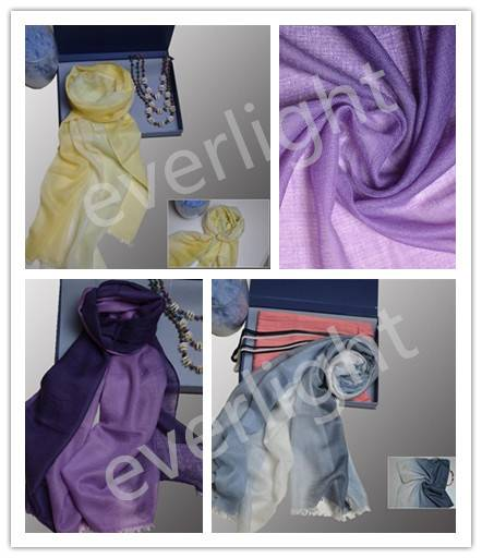 Lightweight pure cashmere shawl scarves