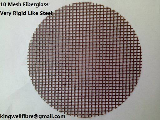 10 Mesh Fiberglass for aluminium filtration