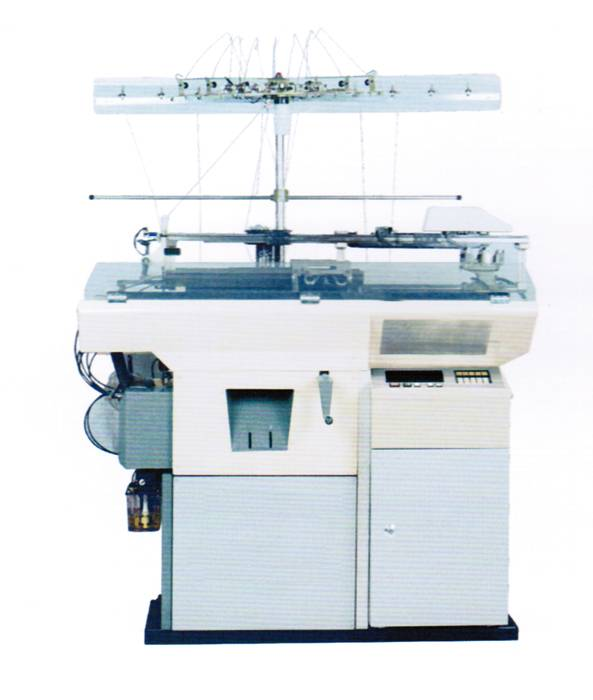 Jacquard gloves machine