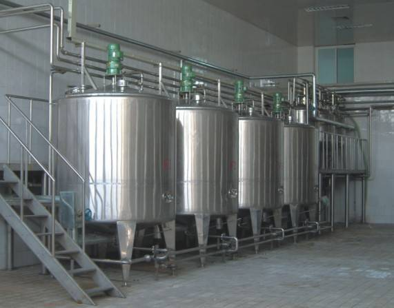 Automatic Liquid Vinegar Brewing Production Line 3000T/Year