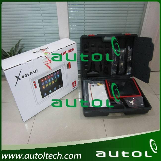 100% Original Launch X431 PAD Auto Scanner Diagnostic Tool