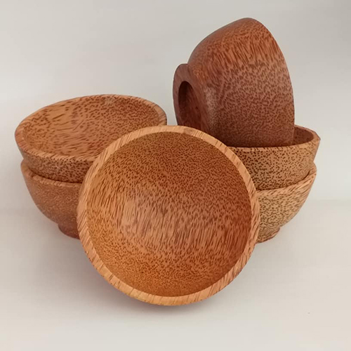 Coconut wooden bowls