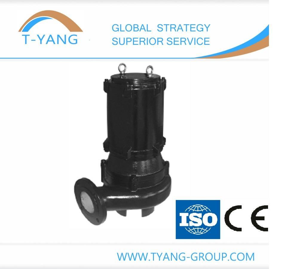 WQ and QW Series Non-clog Submersible Motor Sewage Pump