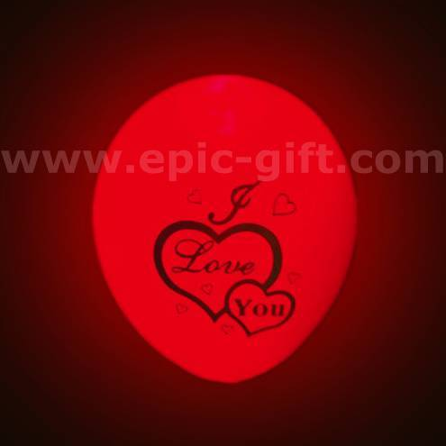 LED balloon for wedding decoration