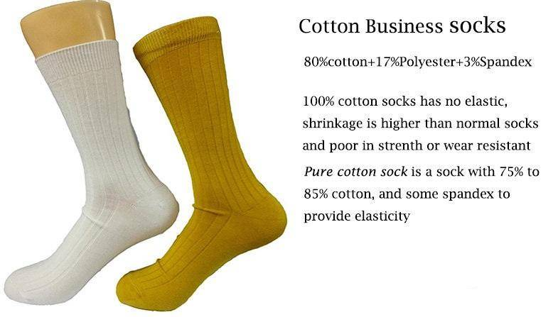 Pure cotton socks