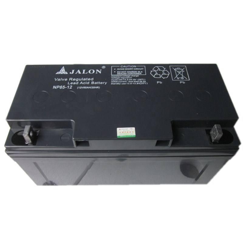 jalon12V65AH lead acid manteinance free battery