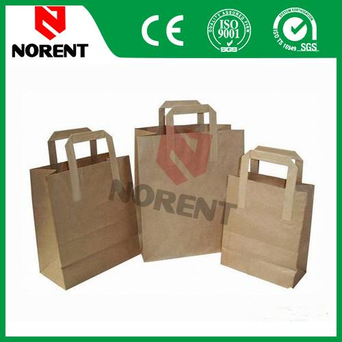 Customized Kraft Paper Packaging Bag for Garments