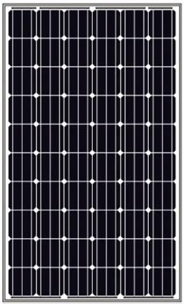 260w mono USA Helios branding PV panel