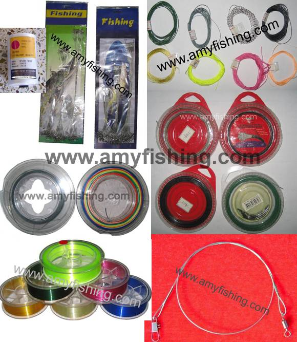 fishing line, braided line, stringer, carbon line, nylon line, wire line, fishing rope