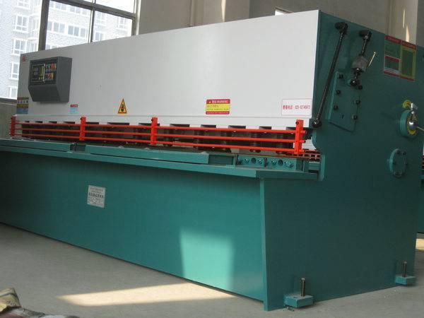 Mechanical shear machine, cutting machine, hydraulic machinery plate shears