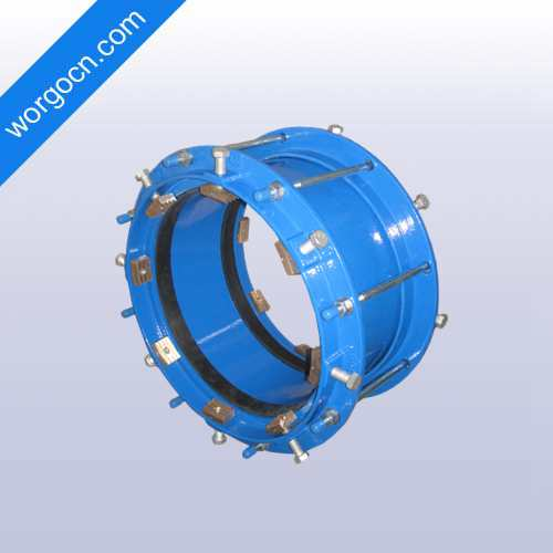 Restraint Coupling for HDPE Pipe