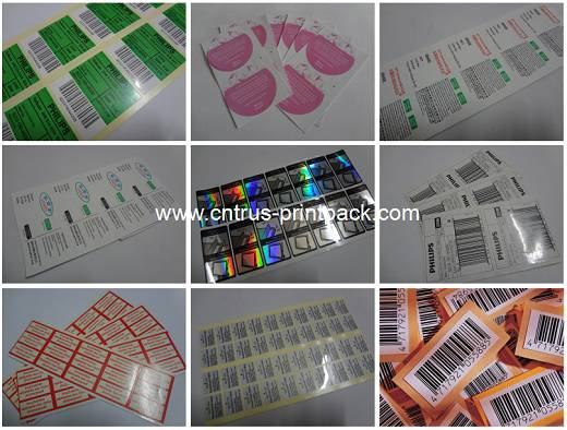 Waterproof Matt Laminated Self-Adhesive Labels