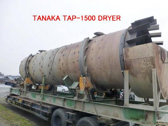 USED TANAKA TAP-1500 DRYER ASS'Y