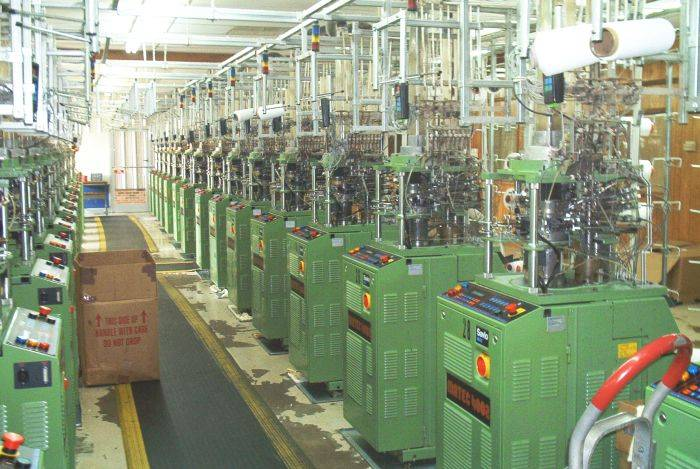 Dress Sock Double Cylinder Mill - Matec Silver machines