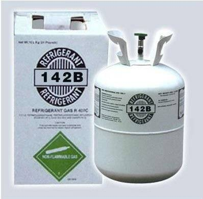 High Purity Refrigerant gas r142b