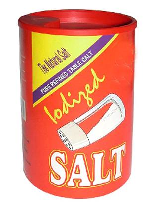 Iodized Edible Salt (Bottles & Pouches 750gm / 737gm / 400gm / Other)