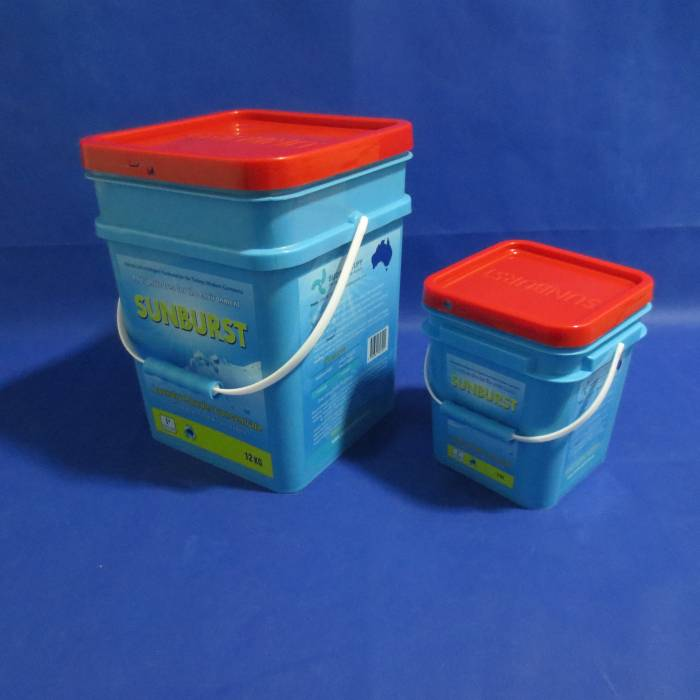 Plastic Square Bucket with lid