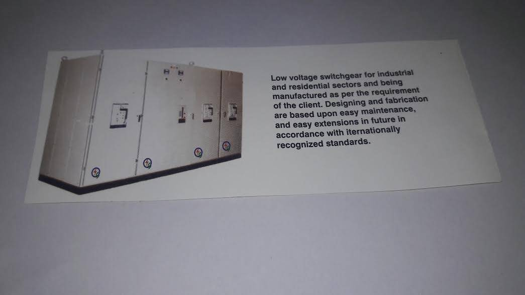 Low voltage Switch gears