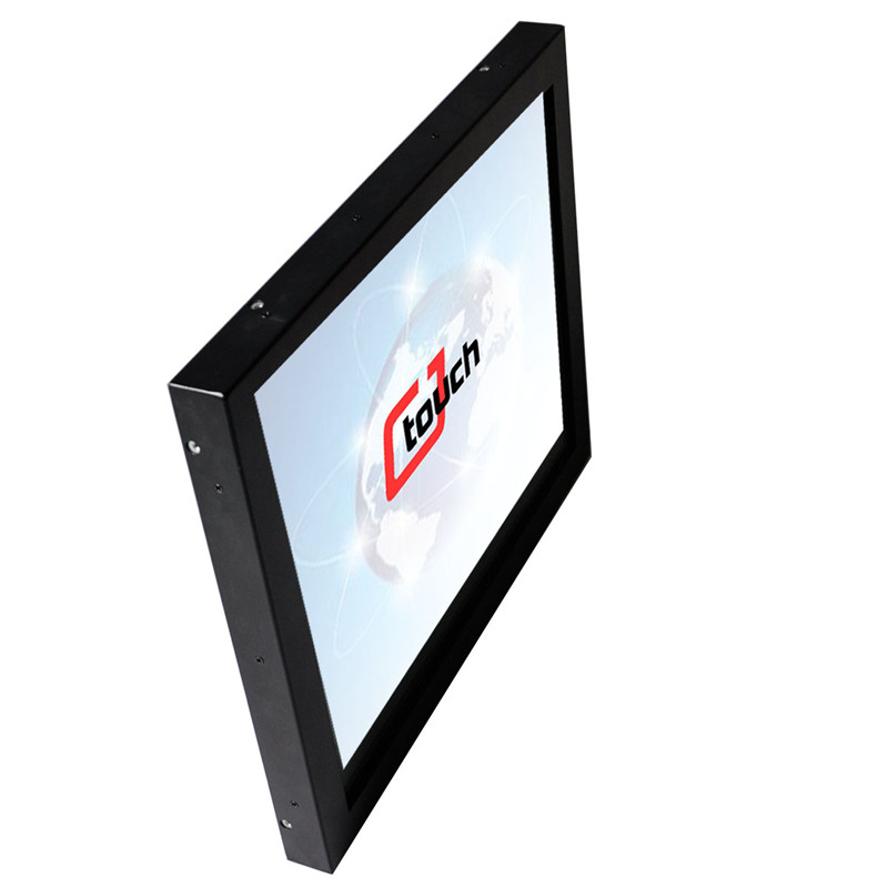 18.5 inch wide 16:9 screen ratio touch monitor 1080p hd lcd panel touch screen multi touch usb cable