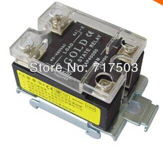 Free shipping Single phase AC solid state relay SAP4005D input 3-32VDC 5A DC to AC relay