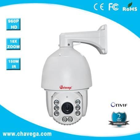6 inch Megapixel HD IR High Speed IP outdoor PTZ Camera