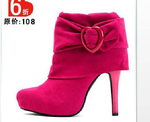 Our fashion lady ankle boot with high quality