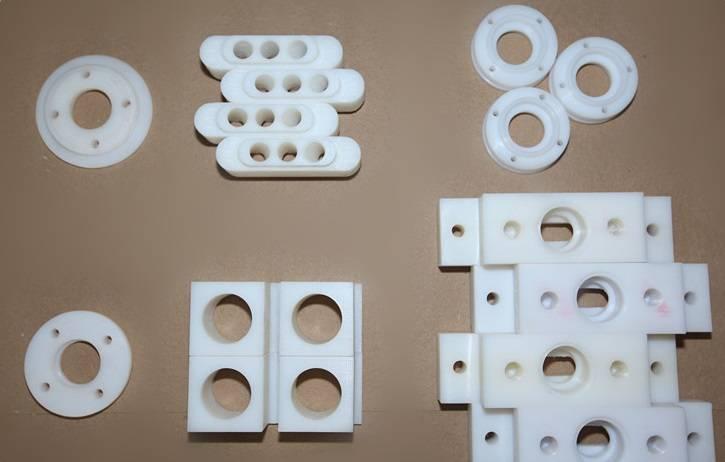 plastic irregular parts