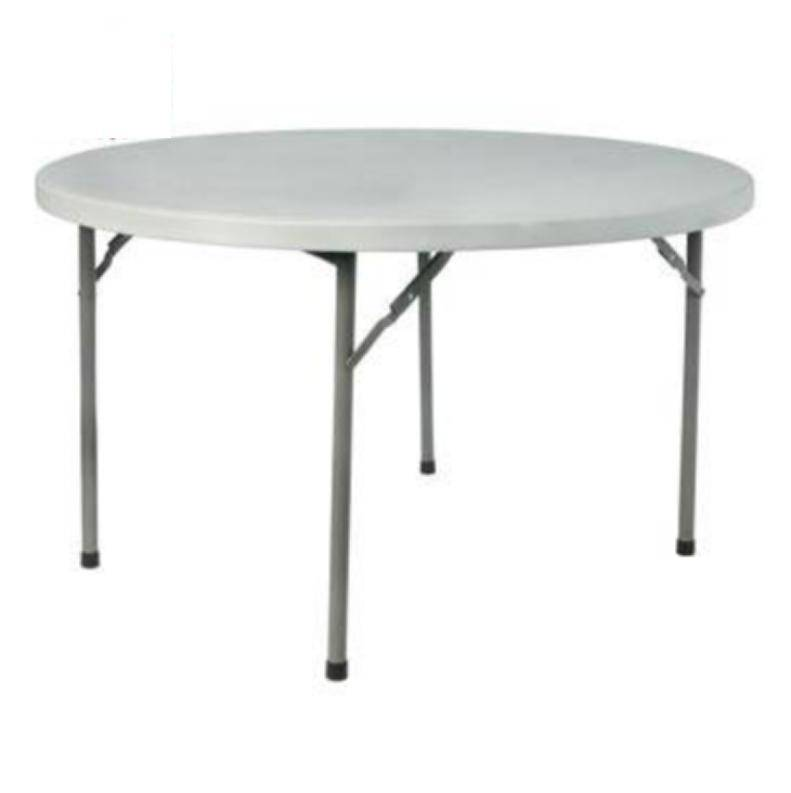 folding round table, hdpe material