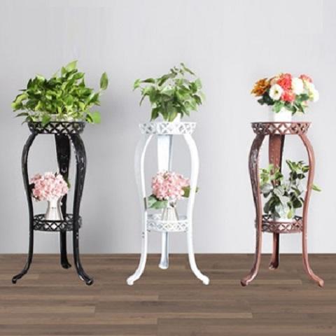 Antique Wrought Iron Flowers rack