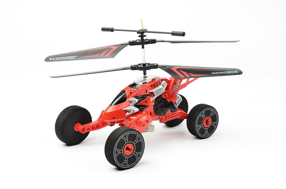 2ch r/c flying car with light