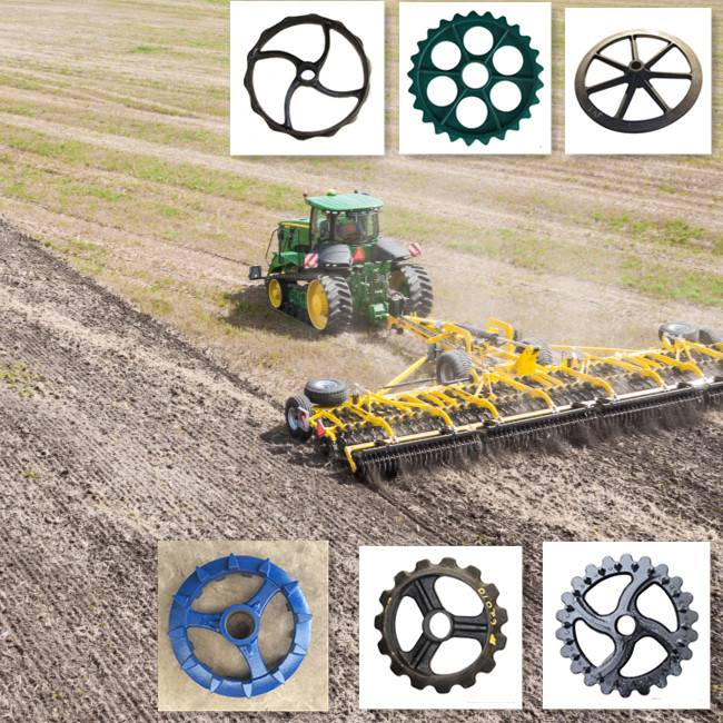 Agricultural Equipment Roller Components and Spare Parts