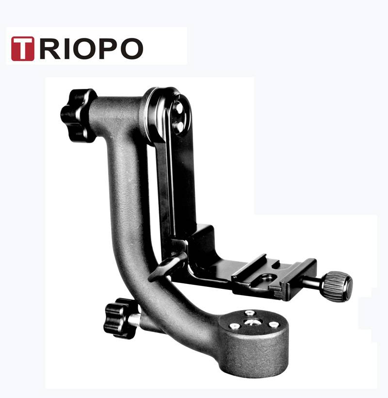 TRIOPO DG-3 gimbal head tilt head bird watching head with 1/4 s