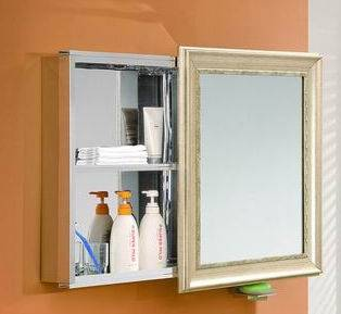 MC1002 Stainless steel mirror cabinet
