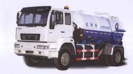 vacuum sewage tank truck