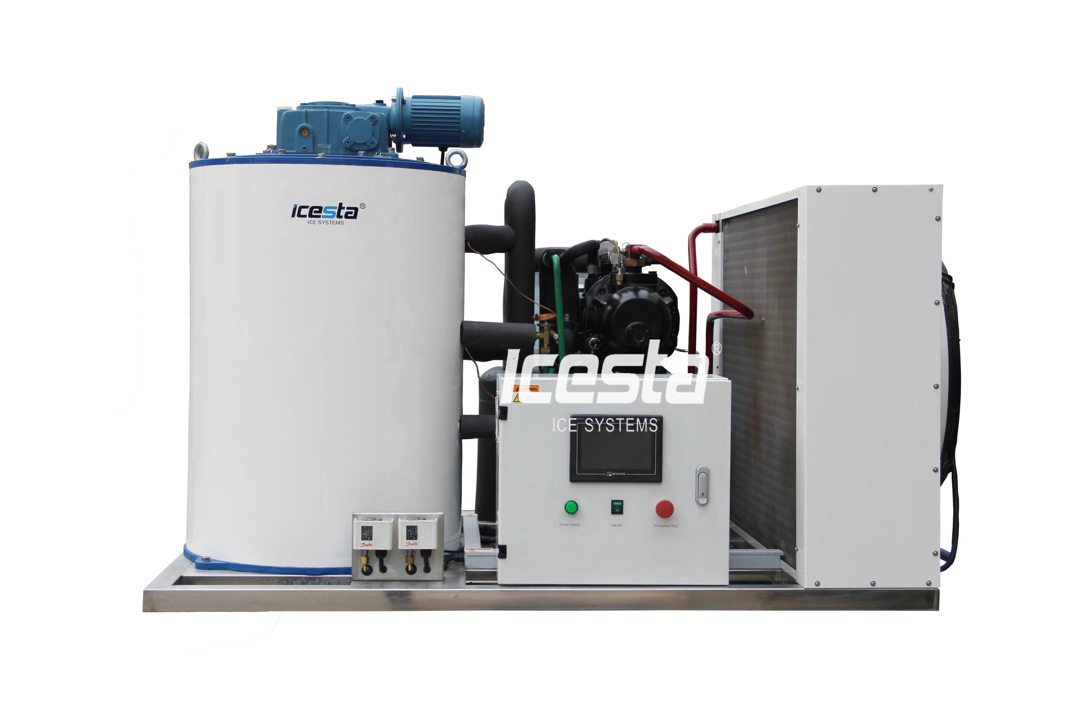 ICESTA Small Range 0.5T-3T Flake Ice Machines with Cheap Price