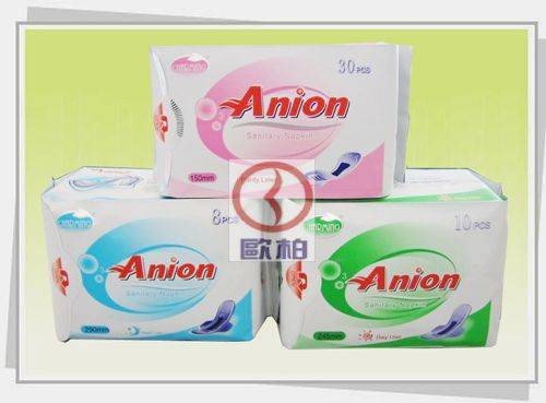 Anion Sanitary Napkins