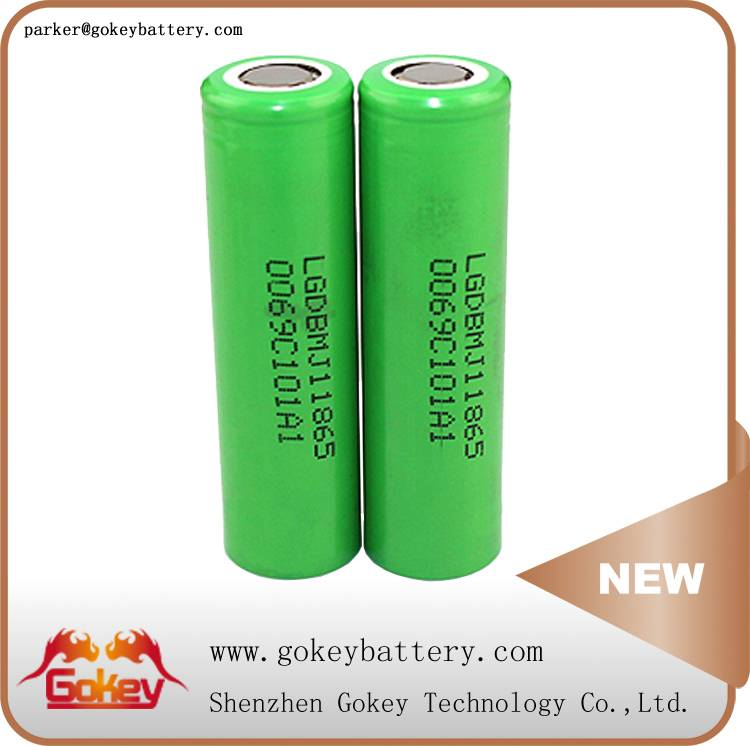 LG MJ1 3500MAH 3.7V 10A LI-ION 18650 BATTERY IN BATTERY STORE