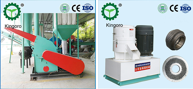 Wood Sawdust Straw Pellet Processing Line For Biomass Fuel
