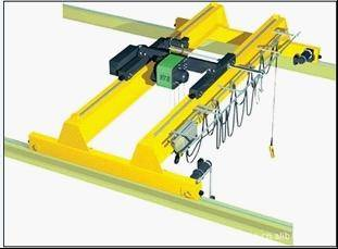European style overhead crane with hook
