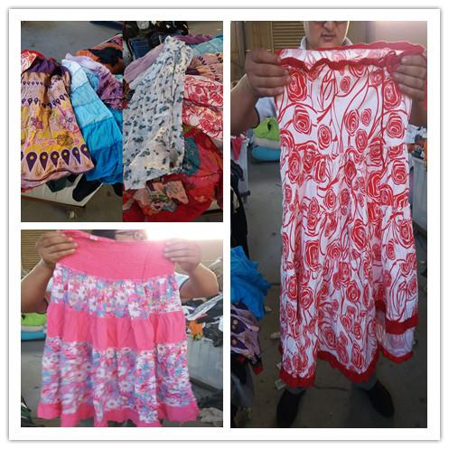 used clothing ladies cotton dress