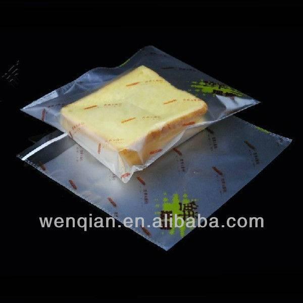 self adhesive seal transparent plastic bags for food