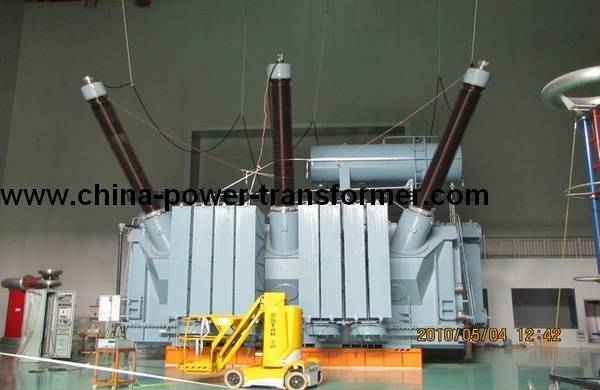 330kV Oil Immersed Three Phases Power Transformer