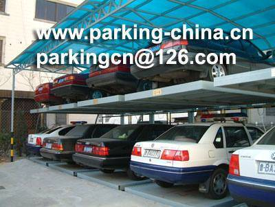 Back cantilever parking system