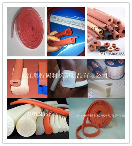 Extrued Silicone Sponge strip